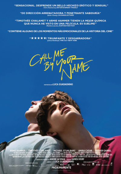 "Why you should watch ""Call me by your name"""