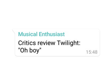 Twilight: A Review aka The Danger of  Book Clubs